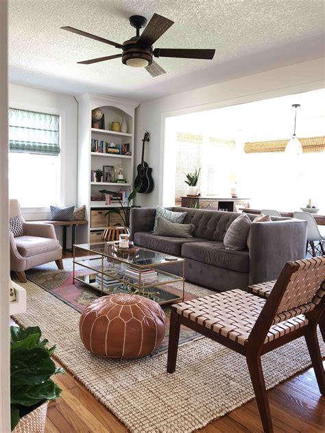 evolution   layered  cozy living room