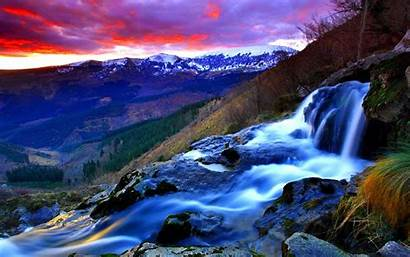 Stream Mountain Wallpapers Streams Nature Background Mountains