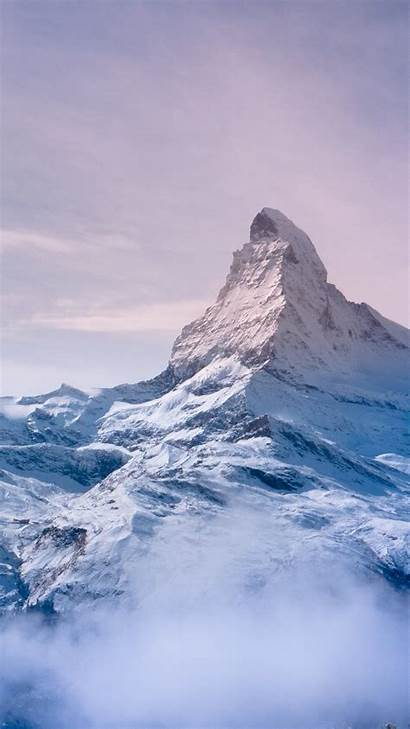 Iphone Wallpapers Mountain Everest Pink 4k Sky