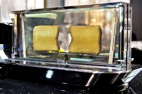 transparent glass toasters glass toaster