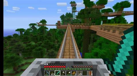 minecraft jungle tree village  youtube