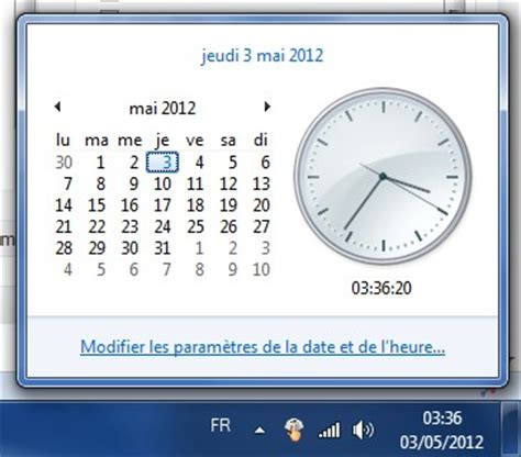 horloge bureau windows xp horloge pc bureau gratuit