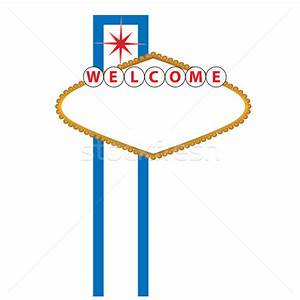 blank las vegas sign vector illustration c soleilc With welcome to las vegas sign template