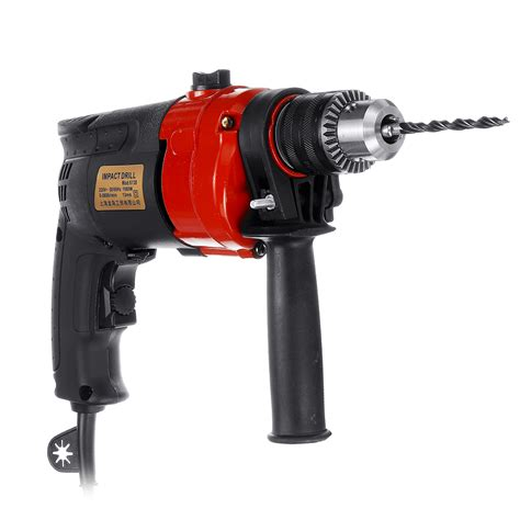 electric corded power impact drill driver