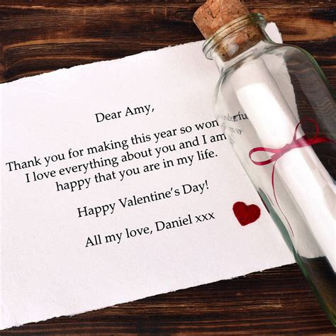 personalised message valentines gift  jenny arnott cards