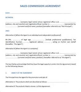 Sales Commission Worksheet Sales Agreement 6 Free Pdf Doc
