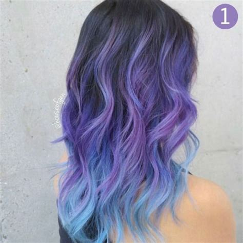 Coloured Hairstyles by 25 Best Ideas About Purple Bob On Pastel