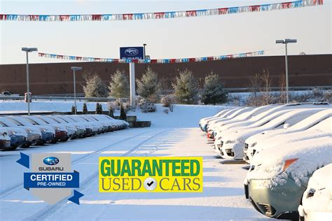 Used Car Warranty Types At Twin City Subaru
