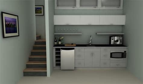 White Gloss Kitchen Design Ideas by Budget Solutions An Ikea Basement Kitchenette