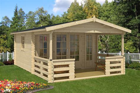 gartenhaeuser mit ueberdachter terrasse oder veranda kaufen