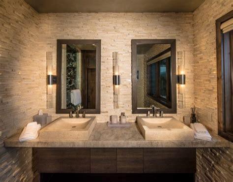 amazing stone bathrooms  enter rustic charm