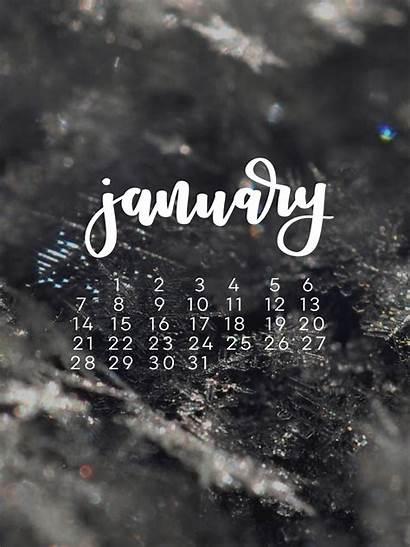January Calendar Tech Wallpapers Desktop Ipad She