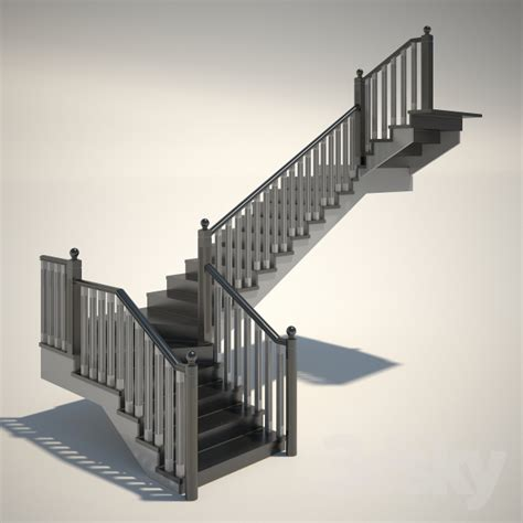 3d models Staircase  Stairs number 13