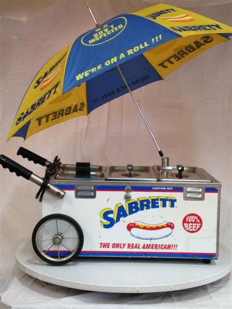 hot dog cart mini sabrett rentals andover nj