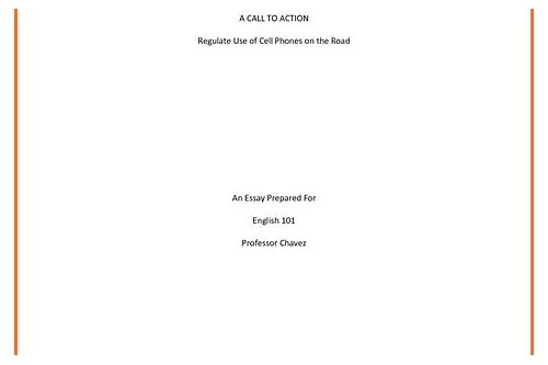 mla sample paper with title page