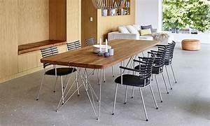 Salle A Manger De Luxe : table de salle manger scandinave plank de luxe bois massif ~ Melissatoandfro.com Idées de Décoration