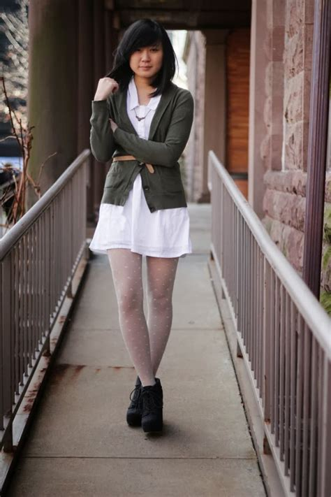 50 Fresh New Ways to Wear White Tights   Sortashion