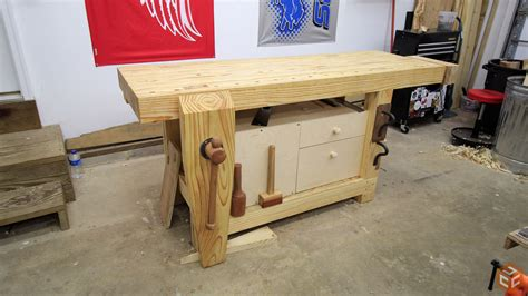 quick  easy workbench cabinet jays custom creations