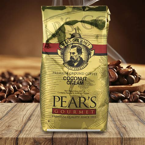 Do not keep the coconut oil for too long in microwave to melt it. Pears Ground Coffee   Flavored Coconut Crème 8oz  6 PACK