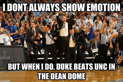 Unc Basketball Meme - duke vs unc a truer shade of blue duke blue devils pinterest