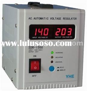 Homemade Ac Automatic Voltage Regulator Circuit Diagram  Homemade Ac Automatic Voltage Regulator