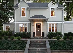 Gray Houses With White Trim Benjamin Moore Galveston