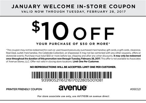 mommy saves big printable coupons avenue coupons printable coupons in amp codes 23684 | avenue coupon 10