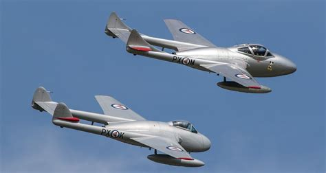 Yarmouth Scow by Airshow News Cold War Jets And War Veteran Spitfire Join