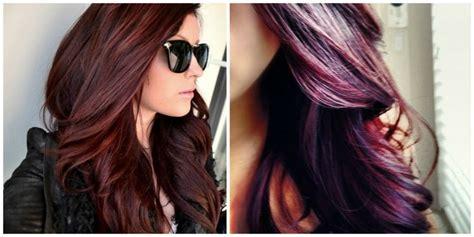 Burgundy And Plum Hair Color.