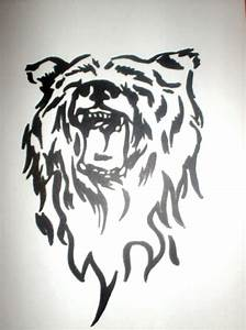 tribal bear by mantasms64 on DeviantArt