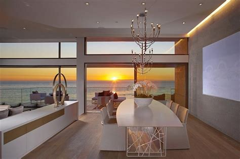 view interior of homes incredible beach house in california brings the ocean indoors
