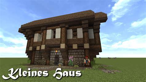 Kleines Haus Bauen by Minecraft Tutorial Kleines Haus Bauen 1 Doovi