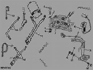 Wiring Harness  Winch  -  U516c U7528 U8f66 U8f86 John Deere 850d
