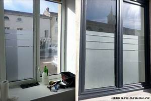 Film Pour Vitre Maison : film protecteur vitre maison 2 film depoli sable baie ~ Dailycaller-alerts.com Idées de Décoration