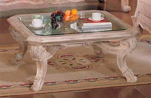 Coffee table off white coffee table set ideas 2016 for Antique white coffee table sets