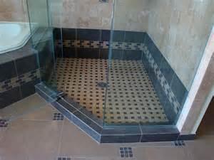Walk-In Tile Shower Design Ideas