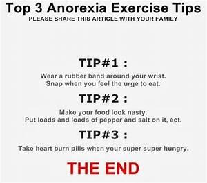 Anorexia Exercise Tips | alexia maron