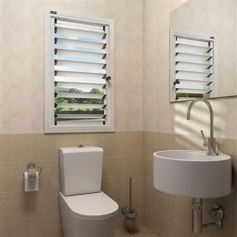 manual white upvc louver windows rs  square feet rs