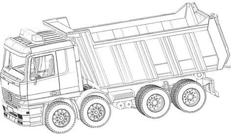 fonds de cuisine coloriage les transports camions à colorier allofamille