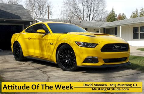 Triple Yellow 2015 Ford Mustang Gt Coupe Mustangattitude