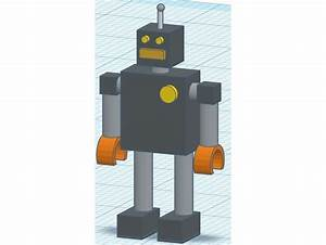 Simple Robot by ChevroletDieselNation - Thingiverse