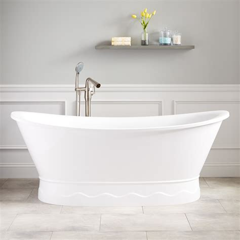 free standing bathtubs boyce acrylic freestanding tub bathroom