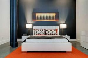 Farben Für Die Wand : farben im schlafzimmer einsetzen das schwarz als hauptfarbe ~ Michelbontemps.com Haus und Dekorationen
