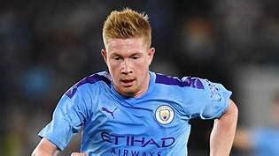 Premier League : Manchester City Kevin De Bruyne named ...