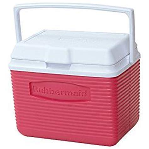 rubbermaid kitchen storage rubbermaid personal cooler 10 quart pink 2035