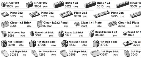 printable labels  sort  lego collection lego