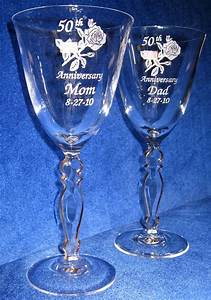 Personalized engraved anniversary and wedding gift ideas for Etched glass wedding gifts