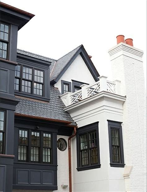 painted brick white houses simons house