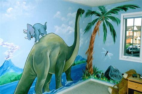 dinosaurs wall themes  kids room