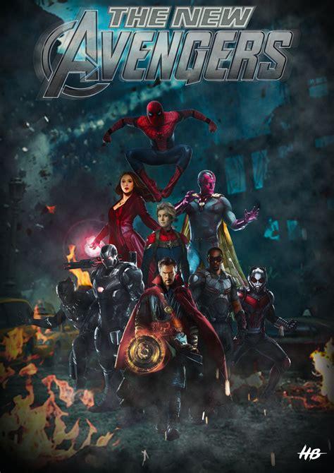The New Avengers By Hemison On Deviantart